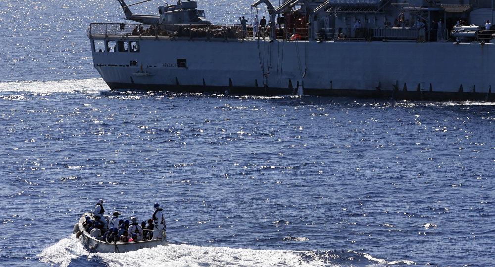 القوات البحرية الأوروبية تشارك في تفتيش السفن المتجهة إلى ليبيا - دوت امارات