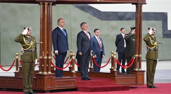 ملك الأردن ورئيس العراق يبحثان جهود محاربة الإرهاب - دوت امارات