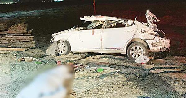 Two citizens perish in traffic mishap - Dotemirates