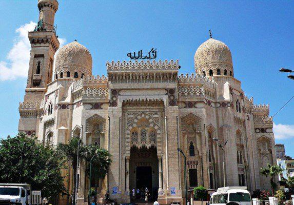مسجد المرسي أبو العباس بالأسكندرية - دوت امارات