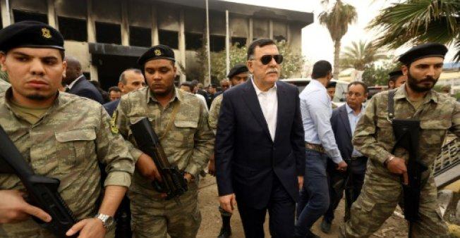 """السرّاج يدعو إلى """"نظرة موحّدة"""" حول الملف الليبي في اجتماع باليرمو (حصري أ ف ب) - دوت امارات"""