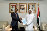 Foreign Ministry receives copy of credentials of new Ugandan Ambassador.